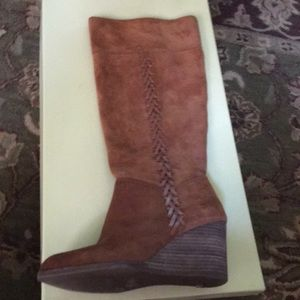 Lucky brand suede boots